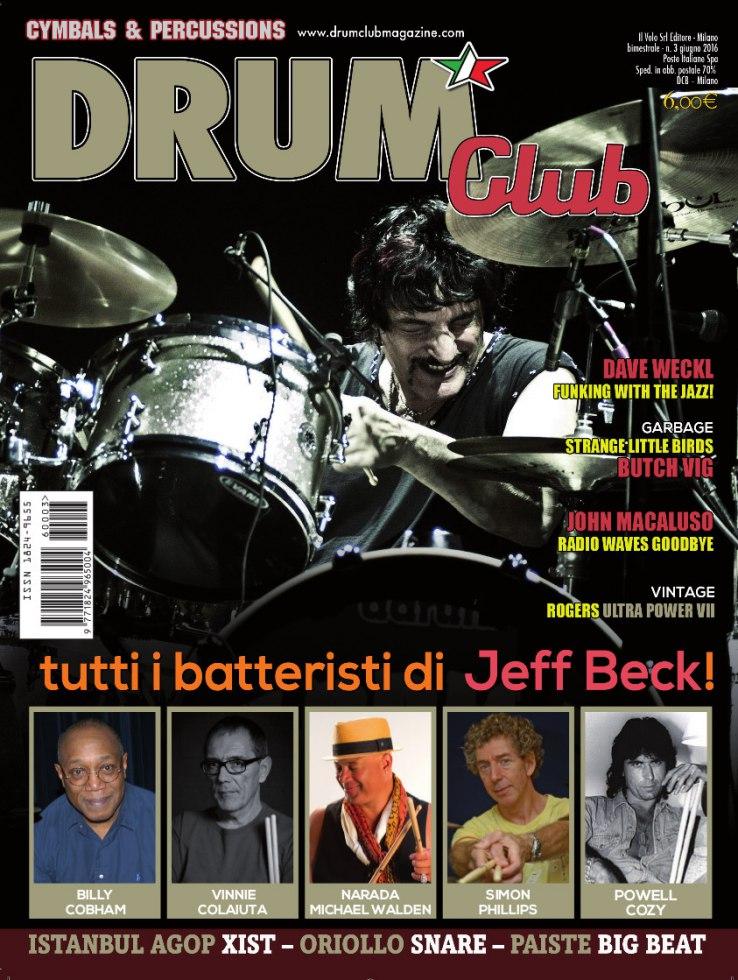 copertina DrumClub 3/2016