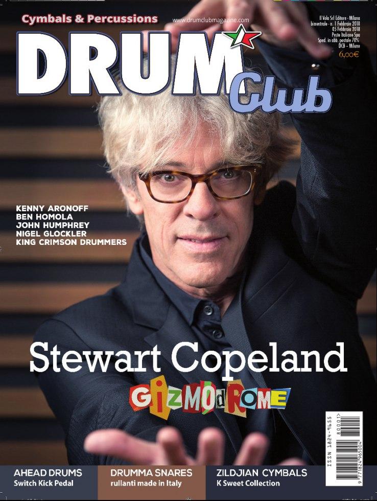 copertina DrumClub 1/2018