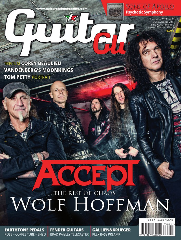 copertina GuitarClub 11/2017