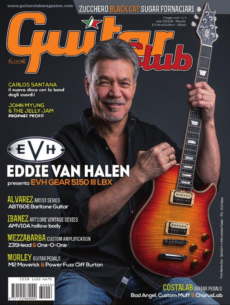 copertina GuitarClub 6/2016