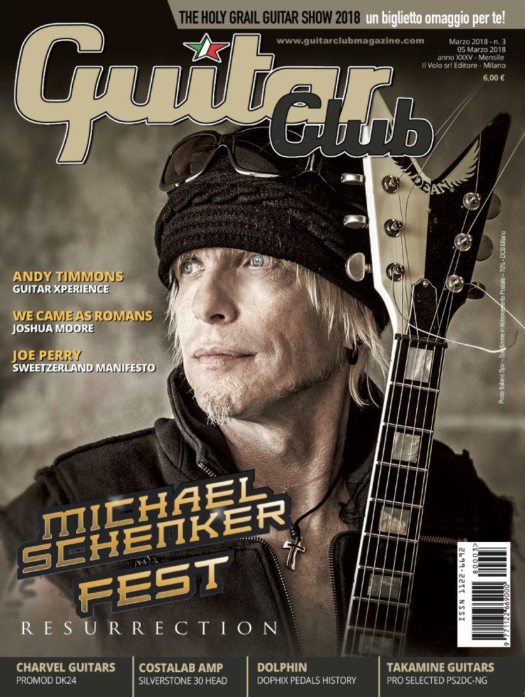 copertina GuitarClub 3/2018