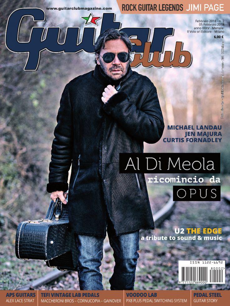 copertina GuitarClub 2/2018