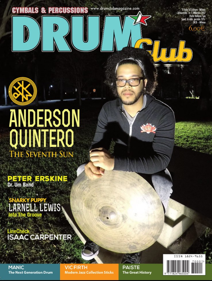 copertina DrumClub 1/2017