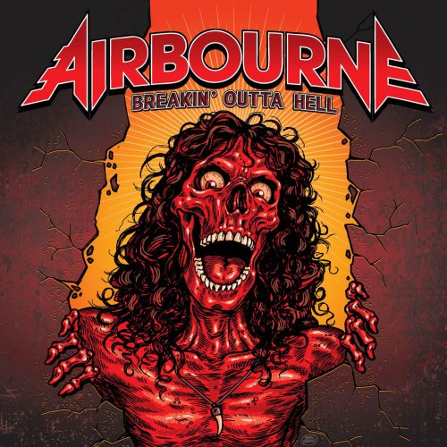 AIRBOURNE Breakin' Outta Hell JOEL O'KEEFE