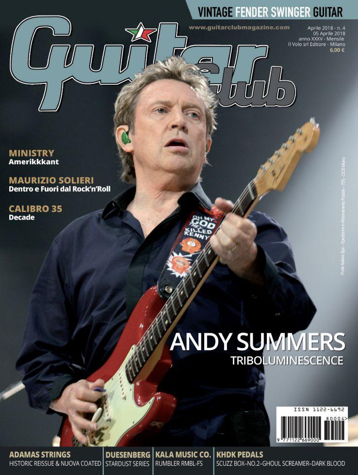 copertina GuitarClub 4/2018