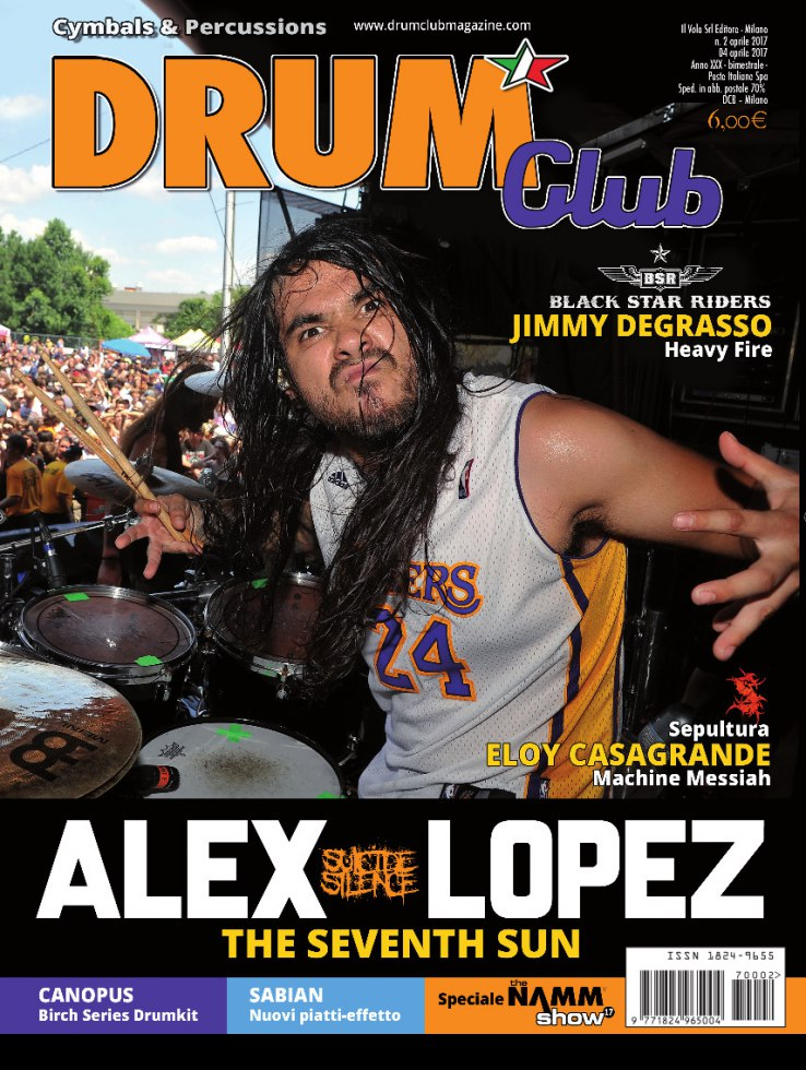 copertina DrumClub 2/2017