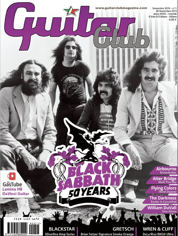 copertina GuitarClub 11/2019