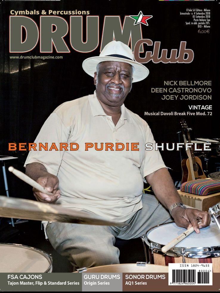 copertina DrumClub 4/2018