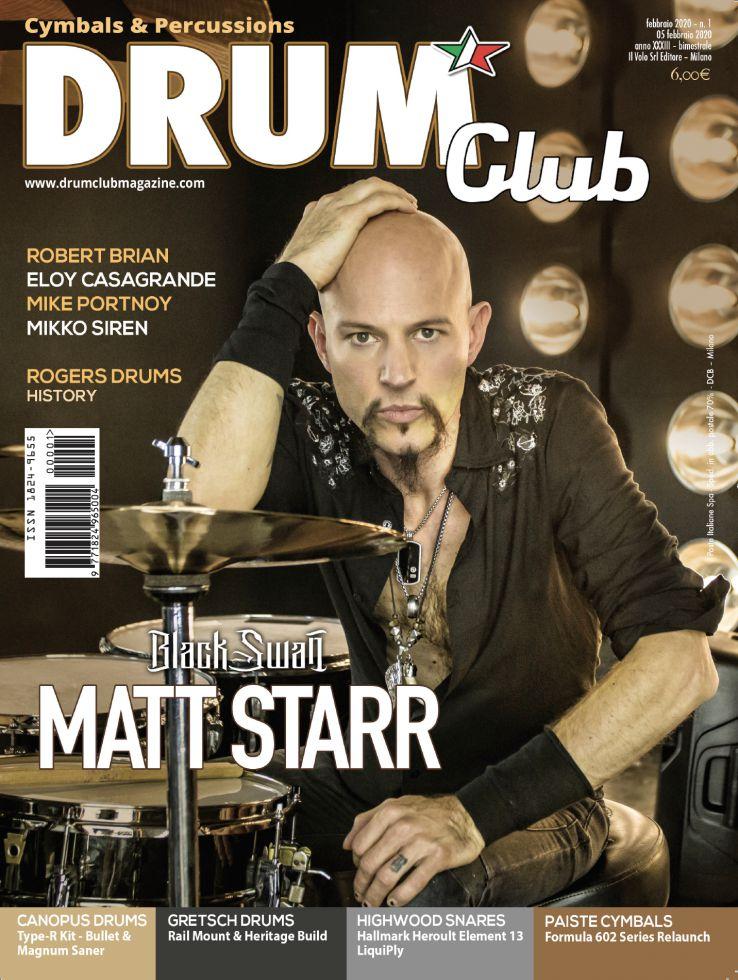 copertina DrumClub 1/2020