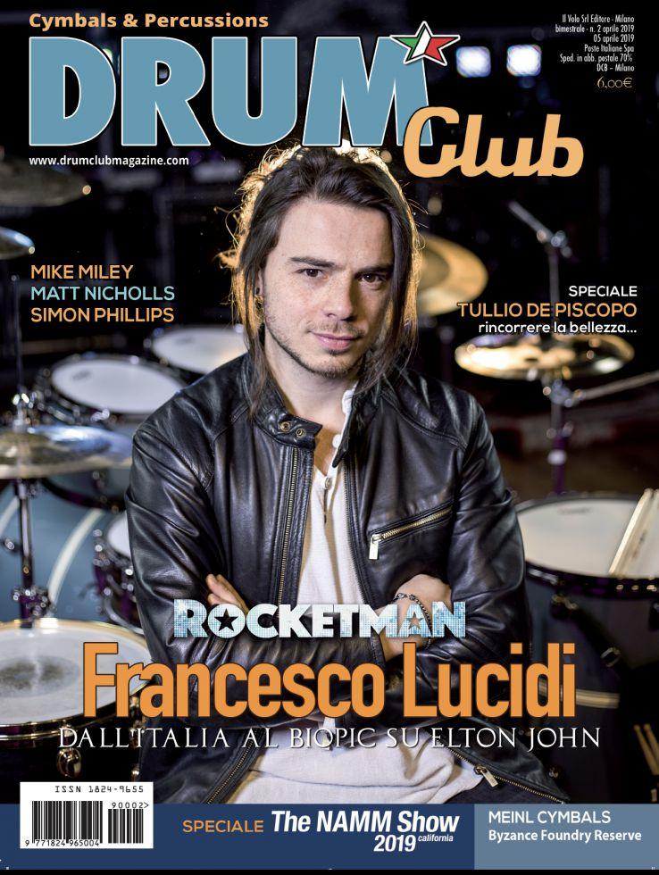copertina DrumClub 2/2019