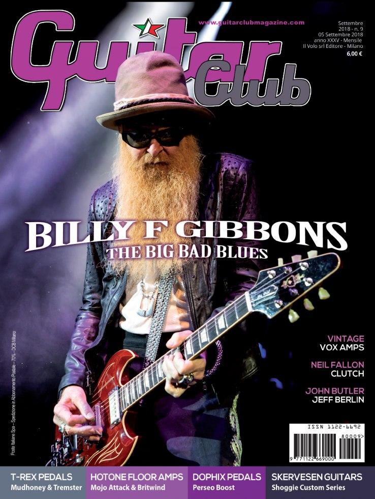 copertina GuitarClub 9/2018