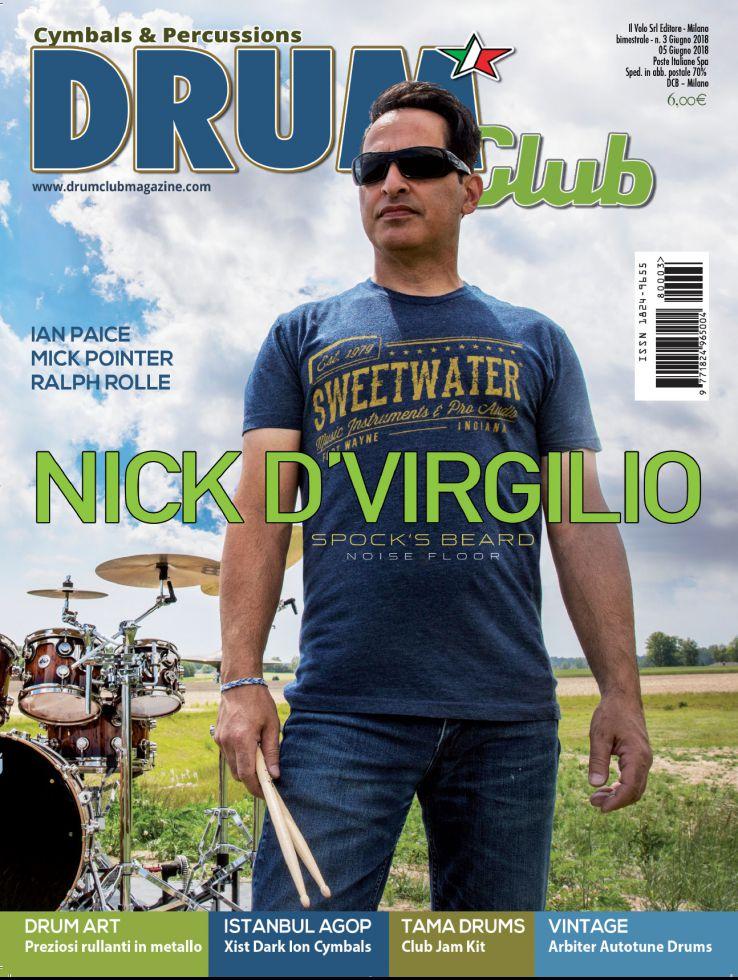 copertina DrumClub 3/2018