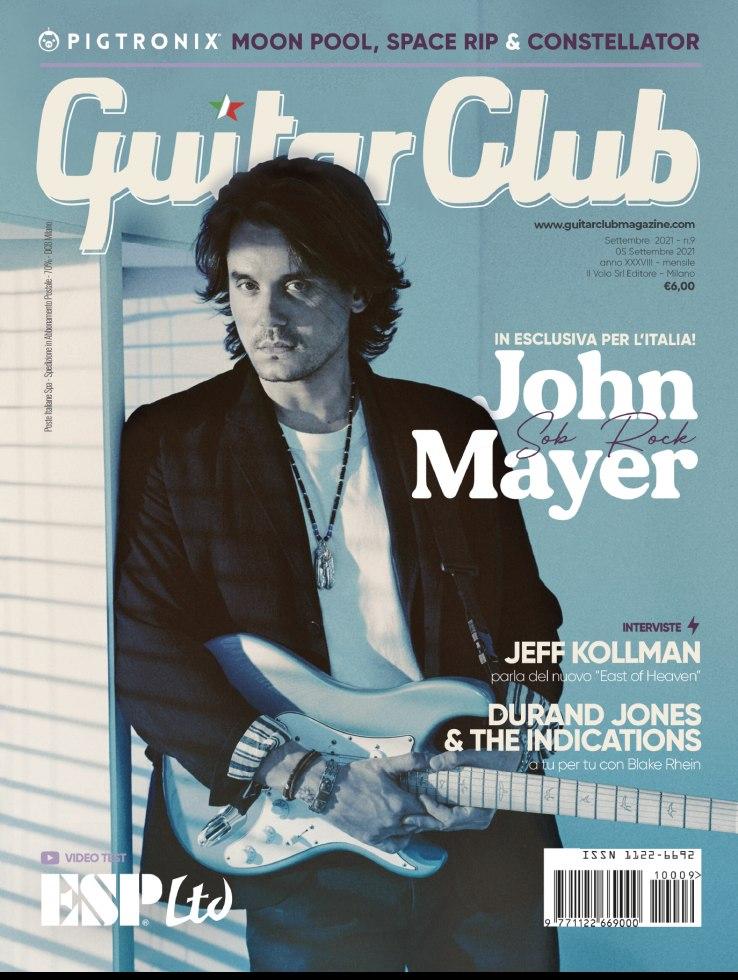 copertina GuitarClub 9/2021