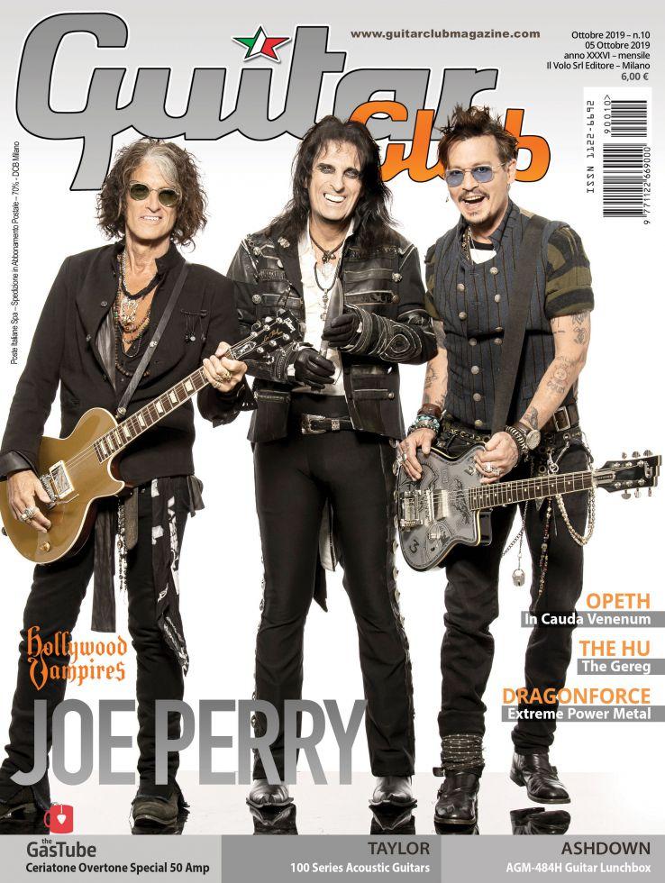 copertina GuitarClub 10/2019