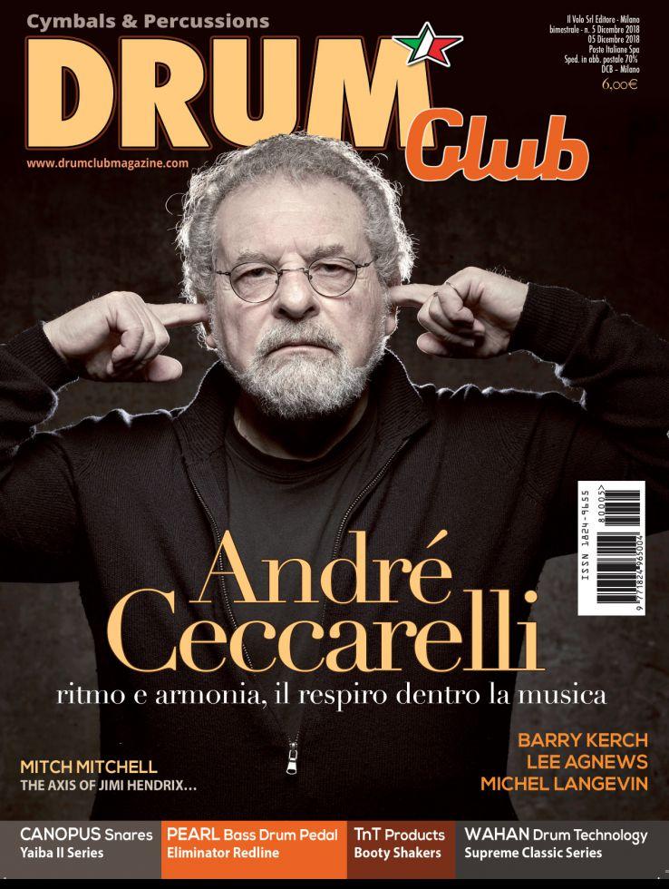copertina DrumClub 5/2018