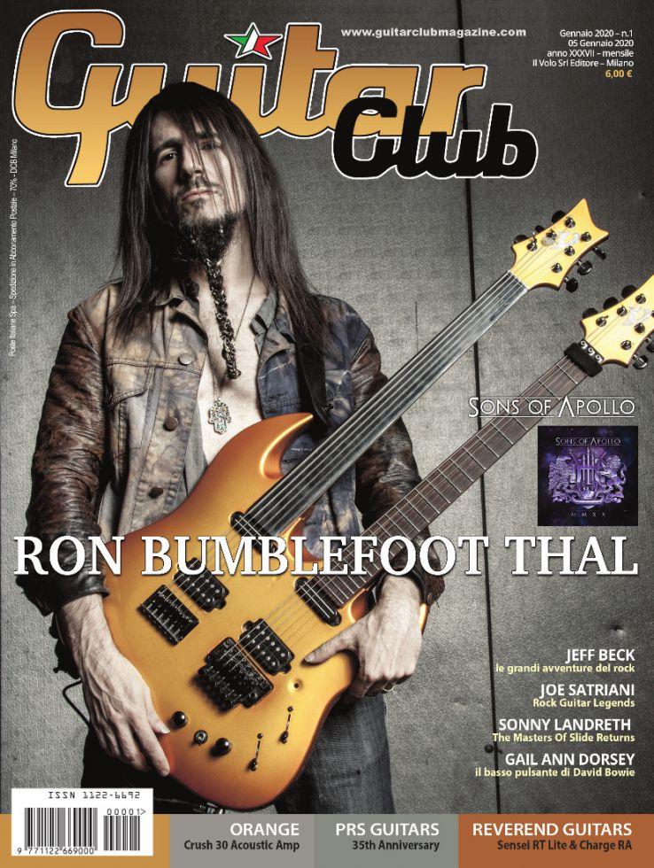 copertina GuitarClub 1/2020