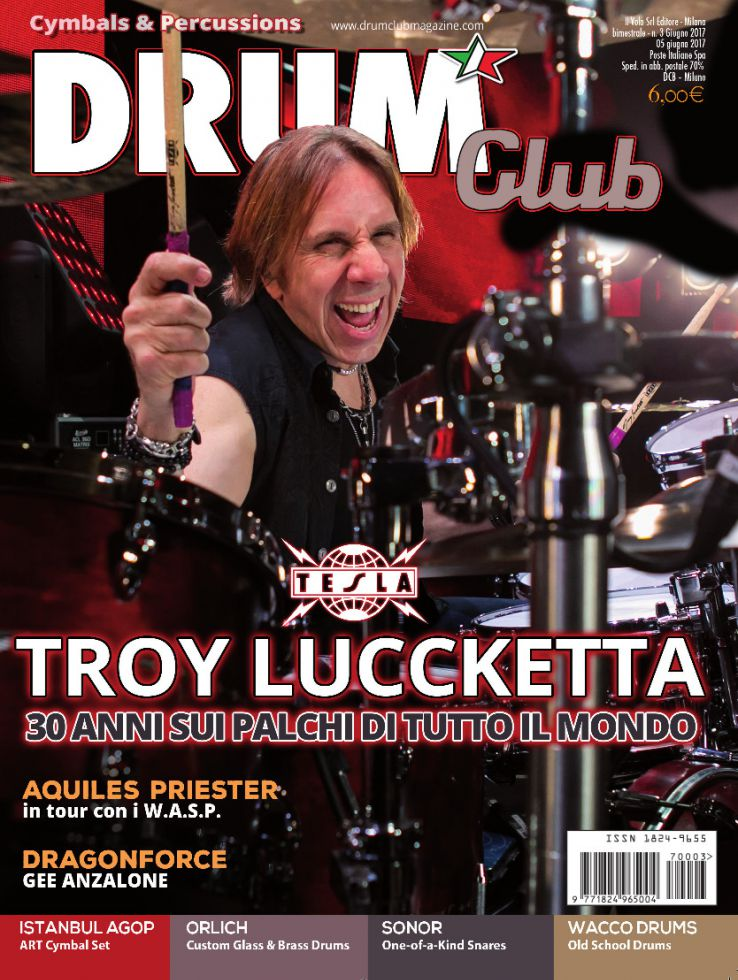 copertina DrumClub 3/2017